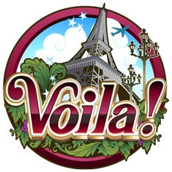 Voila (Online Pokie) (Microgaming) Logo