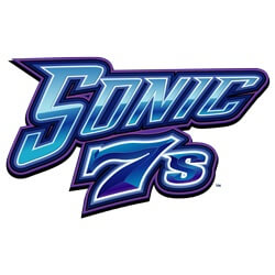 Power Spins Sonic 7s (Online Pokie) (Microgaming) Logo