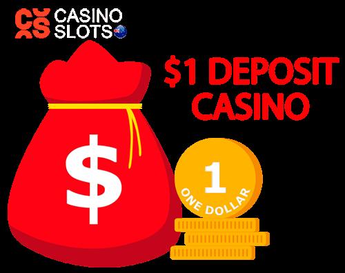 $1 deposit casino