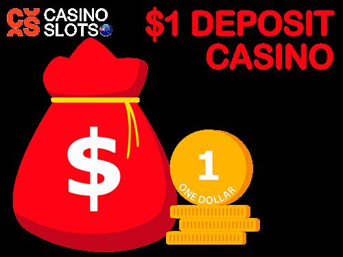 1 dollar deposit