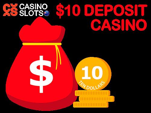 10 dollar deposit casinos logo