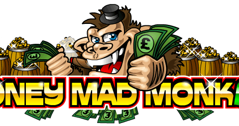 Money Mad Monkey (Online Pokie) (Microgaming) Logo