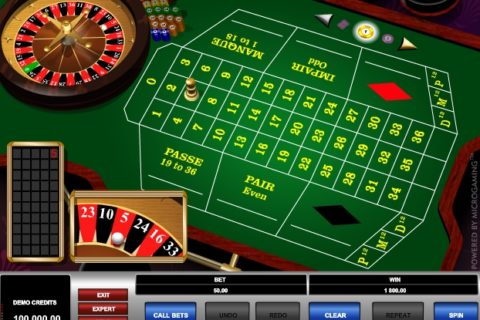 FRENCH ROULETTE (Online Pokie) (Microgaming) Logo