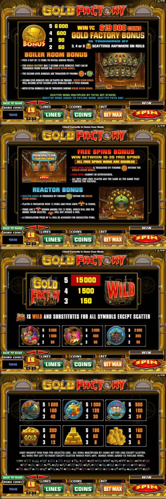 Gold_Factory_(Slot_Game)_(Microgaming)_Paytable