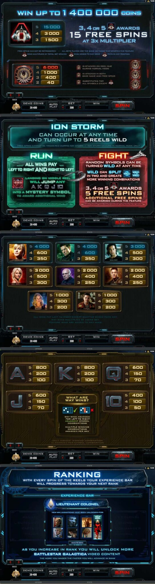Battlestar_Galactica_(Slot_Game)_(Microgaming)_paytable