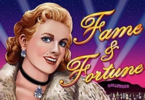 Fame and Fortune (Slot Game) (Realtime Gaming) Logo