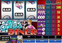 Flo's Diner ( Slot Game) (Microgaming) Logo