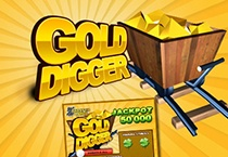 Gold Digger (Slot Game) (BetSoft Gaming) Logo