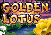 Golden Lotus (Slot Game) (Realtime Gaming) Logo