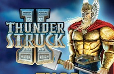 Thunderstruck II (Slot Game) (Microgaming) Logo