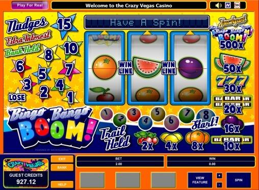 Bingo casino demo free in play slot casino games online