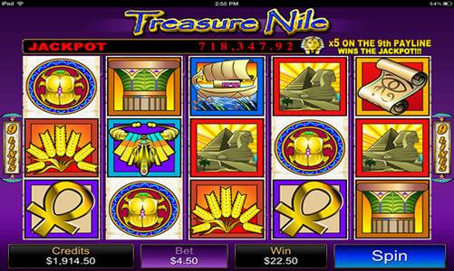 Treasure Nile Progressive Jackpot for Real Money - Rizk Casino
