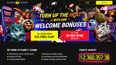 Free spins promo code Planet 7 casino