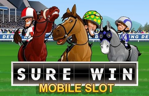 Sure Win (Online Pokie) (Microgaming) Logo
