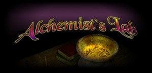 Alchemist's Lab (Online Pokie) (Playtech) Logo