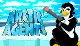 Arctic Agents (Online Pokie) (Microgaming) Logo