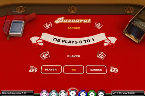 BACCARAT 1X2 GAMING (Online Pokie) (1X2 gaming) Logo