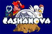 Cashanova slot game logo
