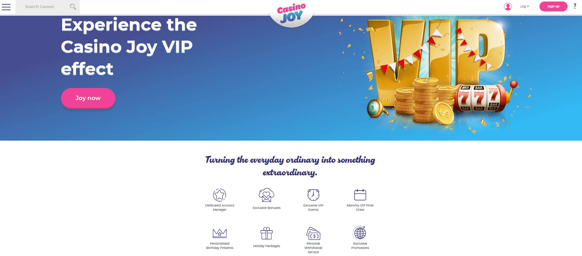 Casino Joy VIP