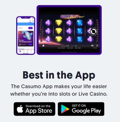 Casumo casino mobile free spins