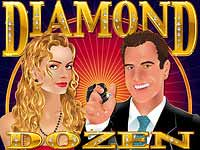 Diamond Dozen (Online Pokie) (Realtime Gaming) Logo