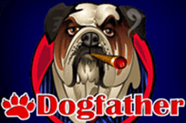 Dogfather (Online Pokie) (Microgaming) Logo
