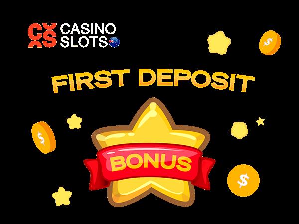 First Deposit Bonus by CasinoSlots