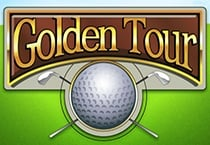 Golden Tour (Online Pokie) (Playtech) Logo
