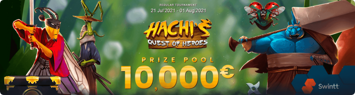 Hachis quest of heroes banner