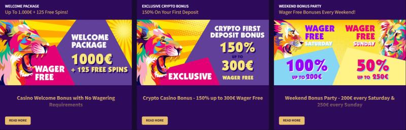 Haz Casino promotions