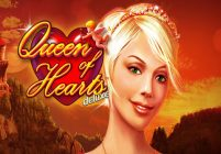 Queen of Hearts slot game logo