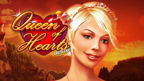 Queen of Hearts (Online Pokie) (Novomatic) Logo