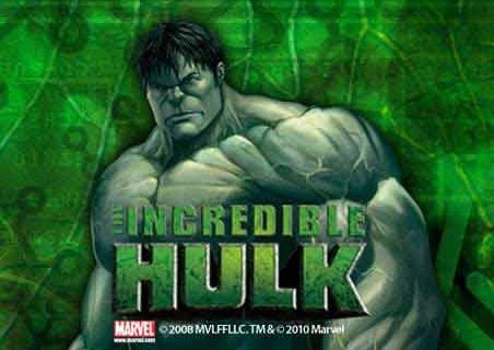 The Incredible Hulk (Online Pokie) (Playtech) Logo