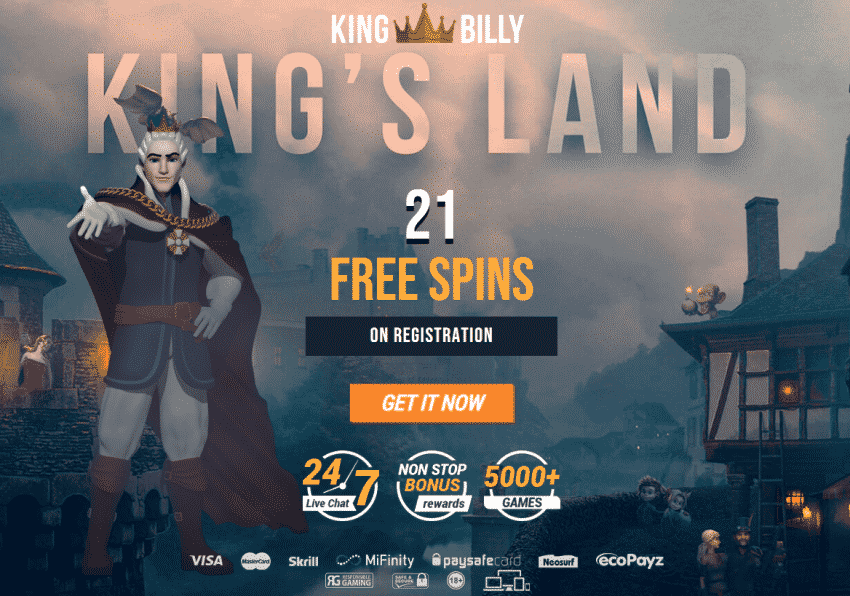 King Billy on signup