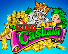 King Cashalot (Online Pokie) (Microgaming) Logo