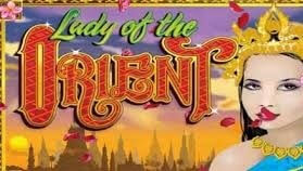 Lady of the Orient (Online Pokie) (Microgaming) Logo