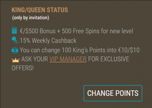 Loyalty spins King Billy