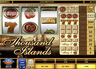 Thousand Islands (Online Pokie) (Microgaming) Logo
