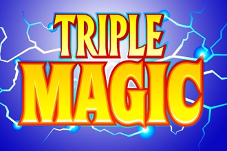 Triple Magic (Online Pokie) (Microgaming) Logo