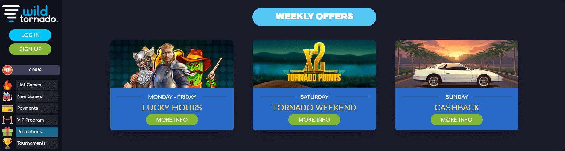 Wild Tornado Promotions