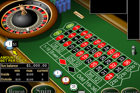 AMERICAN ROULETTE (Online Pokie) (REAL TIME GAMING) Logo