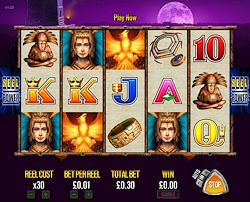 Fire Light (Online Pokie) (Aristocrat) Logo