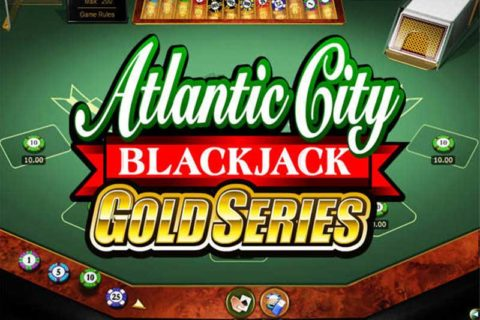 Play Atlantic City Online BlackJack Gold Series slot