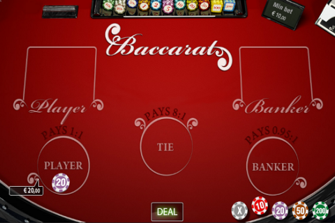 Play BACCARAT PRIVEE slot