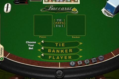 BACCARAT REAL TIME (Online Pokie) (Realtime Gaming) Logo