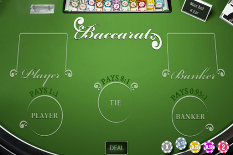Play BACCARAT WORLD MATCH slot