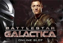 Battlestar Galactica slot game logo