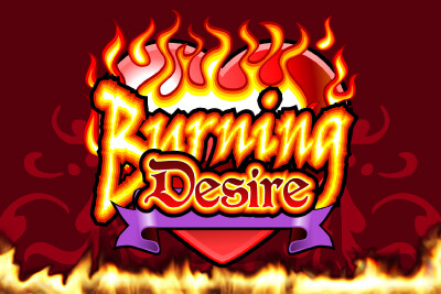 Burning Desire slot game logo