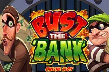 Bust the Bank slot game logo