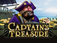 Captain's Treasure Pro slot game logo